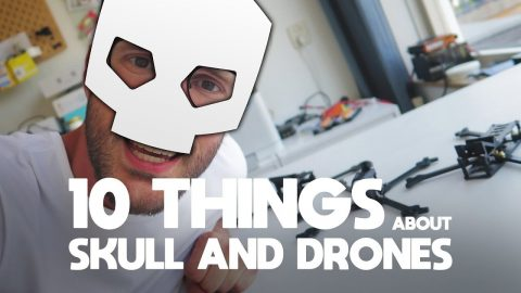 10 Things - Skull and Drones frames Nova Hooligan Pro CherryPicker