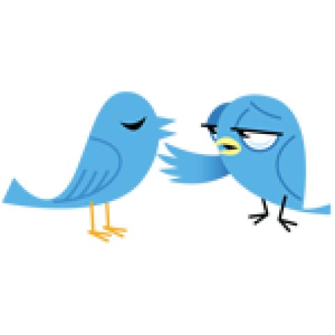 Praatjes maken op Twitter