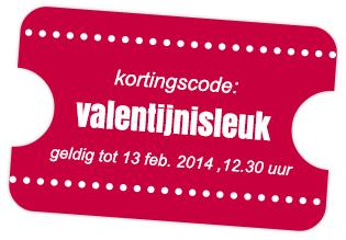 korting valentijnisleuk