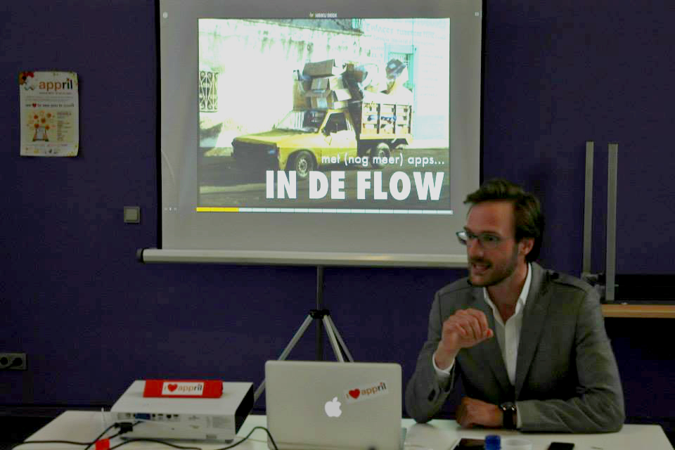 Workshop AppFlow tijdens Appril
