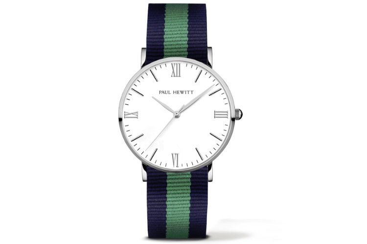 Paul-Hewitt-Nato-Strap-Watch-Silver-Line