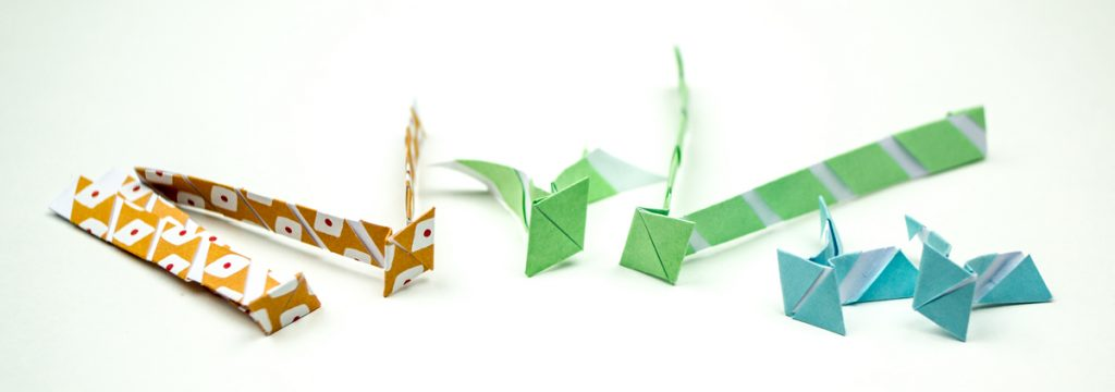papieren manchetknopen zelf maken - DIY