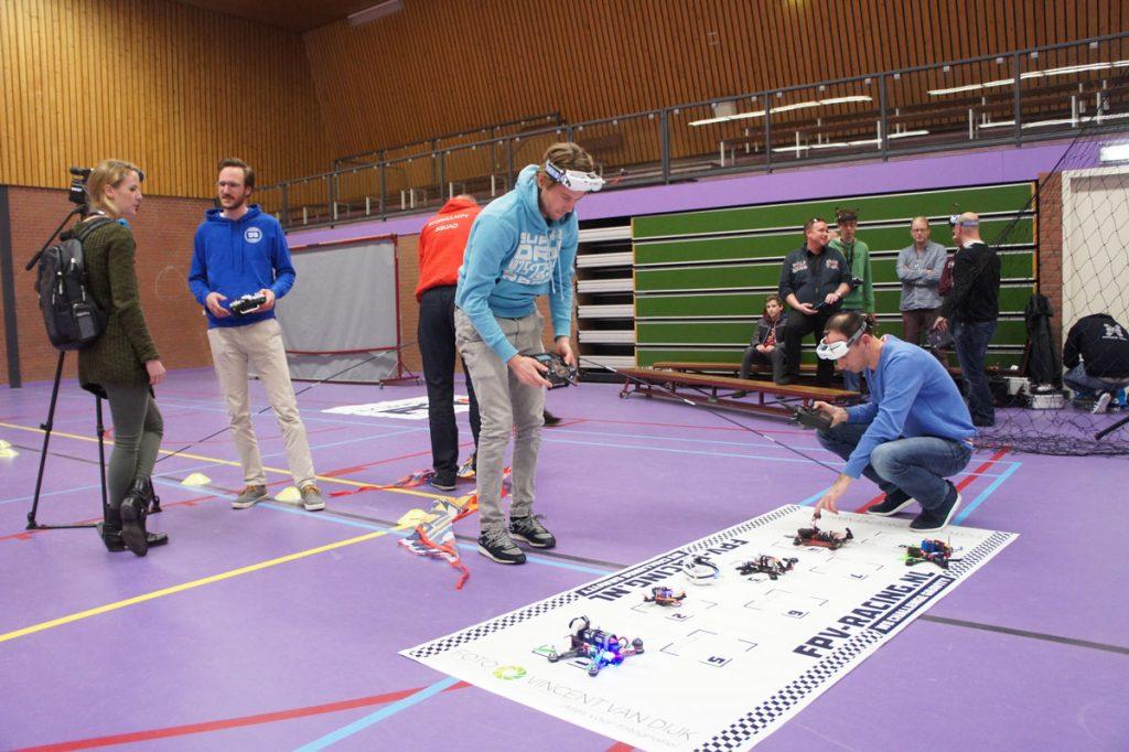 Drone Racing Heemstede - Heemsteedse Courant en RTV Noord-Holland