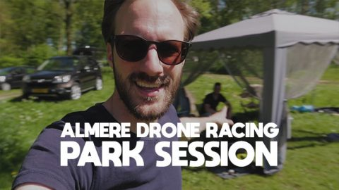 Almere Drone Racing Park Session