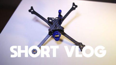 Constructie en gewicht van DRUID Two Lightweight Drone Racing Frame - SHORT VLOG #116