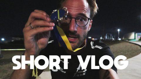 Dikke enkels op de track - short vlog