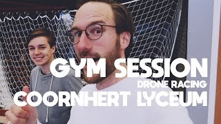 Gym Session Drone Racing op het Coornhert Lyceum