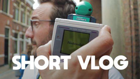 Sowiesowieso een dagje met de Gameboy Camera Maniac in Haarlem - SHORT VLOG #110 - SHORT VLOG #110@0,3x