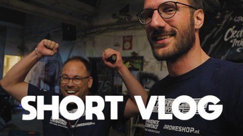 Winnen met DJI FPV en nieuwe piloot bij het team - SHORT VLOG #111@0,3x