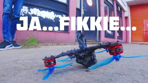 drone in de fik - walter kort