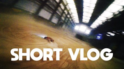 short vlog - geheime indoor drone race spot