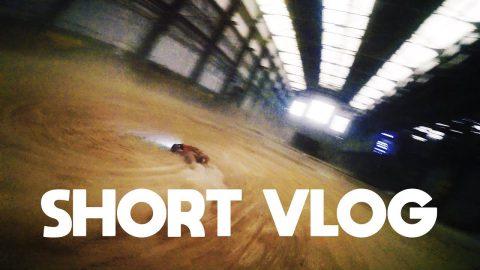 short vlog - geheime indoor drone race spot
